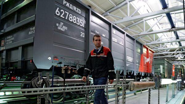 Инновационный вагон производства корпорации Уралвагонзавод. Архивное фото