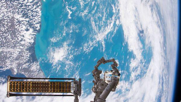 Экспериментальная развертываемая солнечная батарея МКС