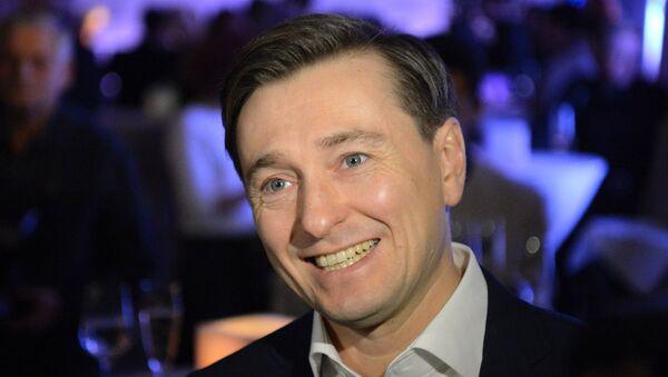 Актер Сергей Безруков. Архивное фото
