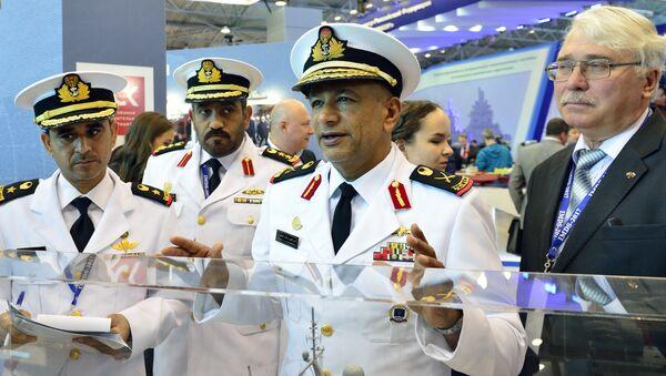 Делегация ОАЭ на международном военно-морском салоне в Санкт-Петербурге 2017
