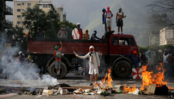 Беспорядки в Каракасе, Венесуэла