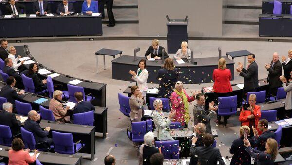 Заседание Бундестага. Архивное фото