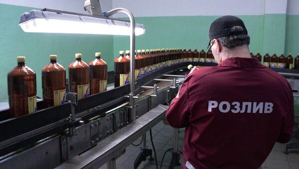 Разливное пиво с 1 января 2017 года