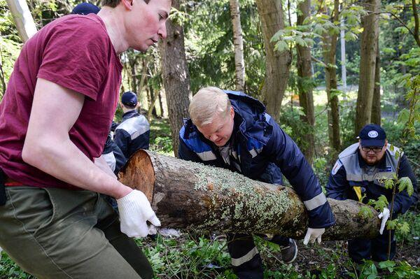 Важная часть экспедиции - экологическая вахта. Волонтеры очищают острова от остатков человеческой деятельности и естественных загрязнений