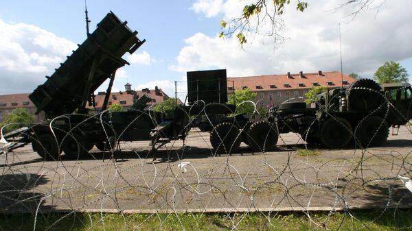 Американский ракетный комплекс Patriot в Польше