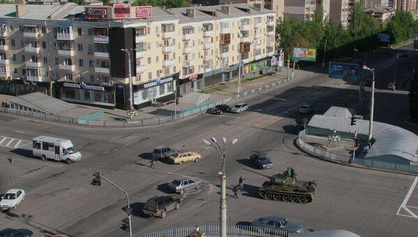 Город Луганск. Архивное фото