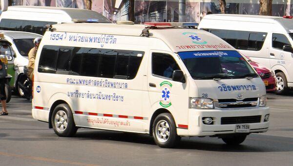 Скорая помощь в Таиланде. Архивное фото