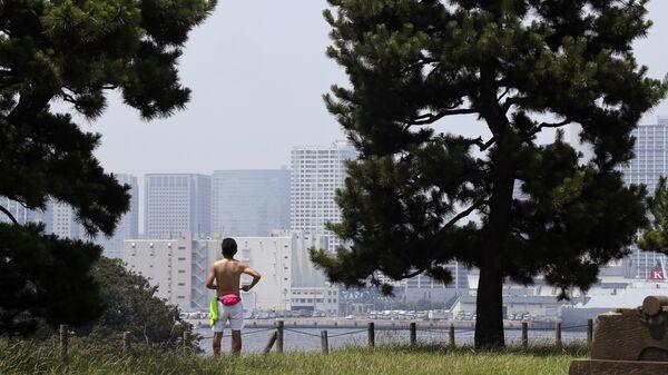 Жара в Токио