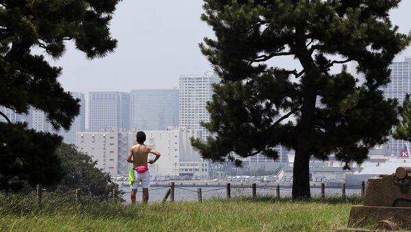 Жара в Токио. Архивное фото