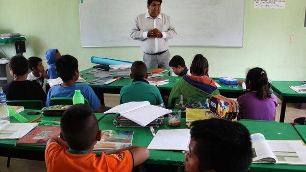 Начальная школа в штате Мехико