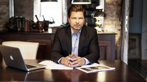 Начальника подразделения инвестиций и рекламы мэрии Вильнюса Дариус Удрис. Архивное фото