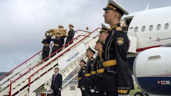 Встреча ковчега с мощами святителя Николая Чудотворца в аэропорту Пулково
