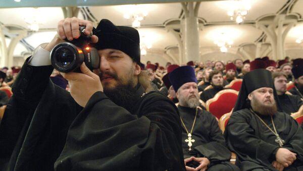 Архиерейский Собор Русской православной церкви.Архивное фото