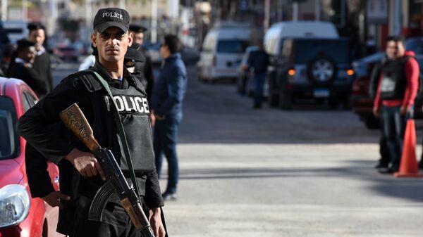 Сотрудники полиции Египта. Архивное фото