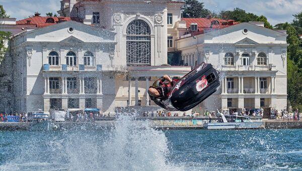 Международный фестиваль экстремальных видов спорта X Fest в Севастополе. 15 июля 2017