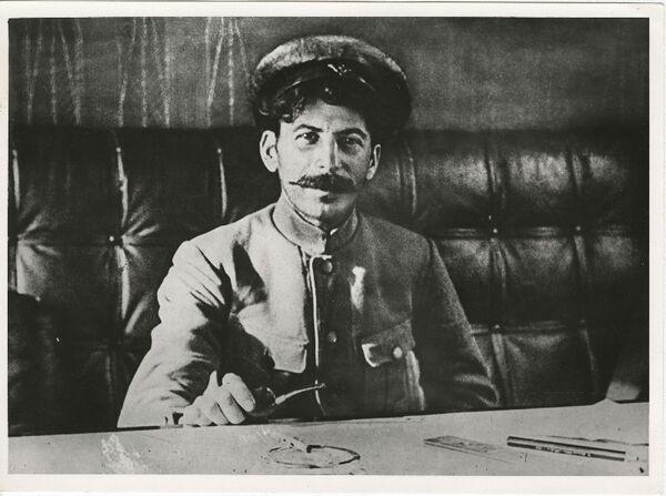 Иосиф Сталин. 1918 год