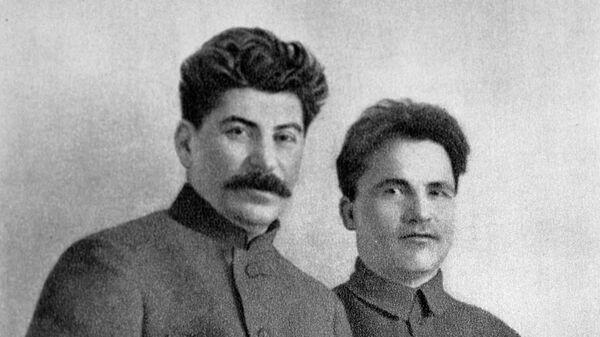 Иосиф Виссарионович Сталин и Сергей Миронович Киров