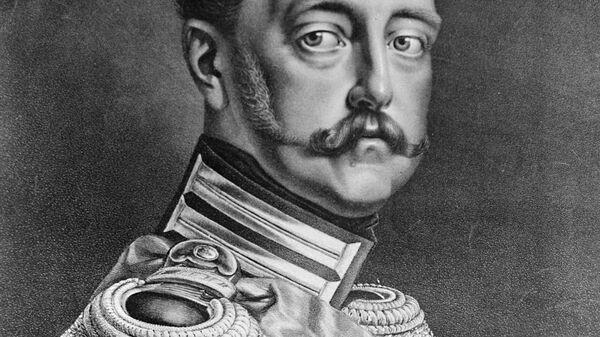 Литографический портрет Николая I из коллекции Государственного Русского музея в Ленинграде