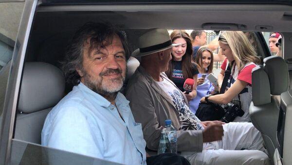 Эмир Кустурица в Симферополе. 23 июля 2017