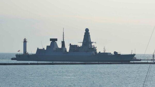 Эсминец Королевских ВМС Великобритании Duncan