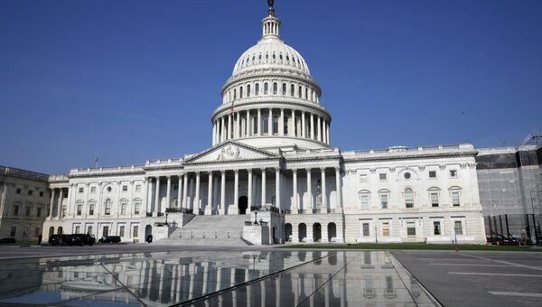 Здание Конгресса США на Капитолийском холме в Вашингтоне. Архивное фото. Архивное фото