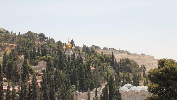 Храм Марии Магдалины в Гефсимании в Иерусалиме. Архивное фото