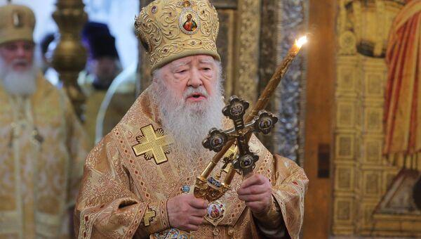 Митрополит Крутицкий и Коломенский Ювеналий. Архивное фото