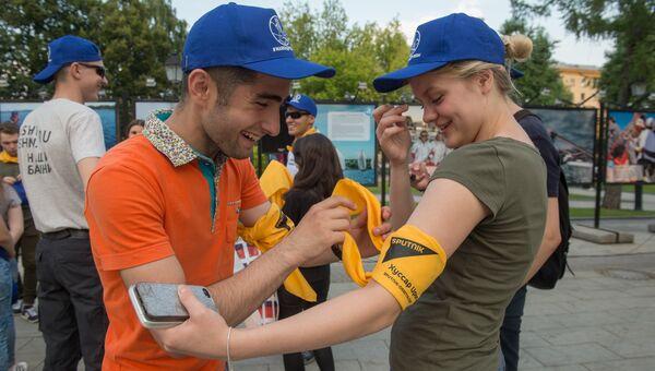 На международном молодежном проекте Маяки дружбы. Башни Кавказа-2017