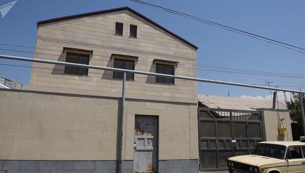 Место взрыва в округе Давидашен Еревана. 3 августа 2017
