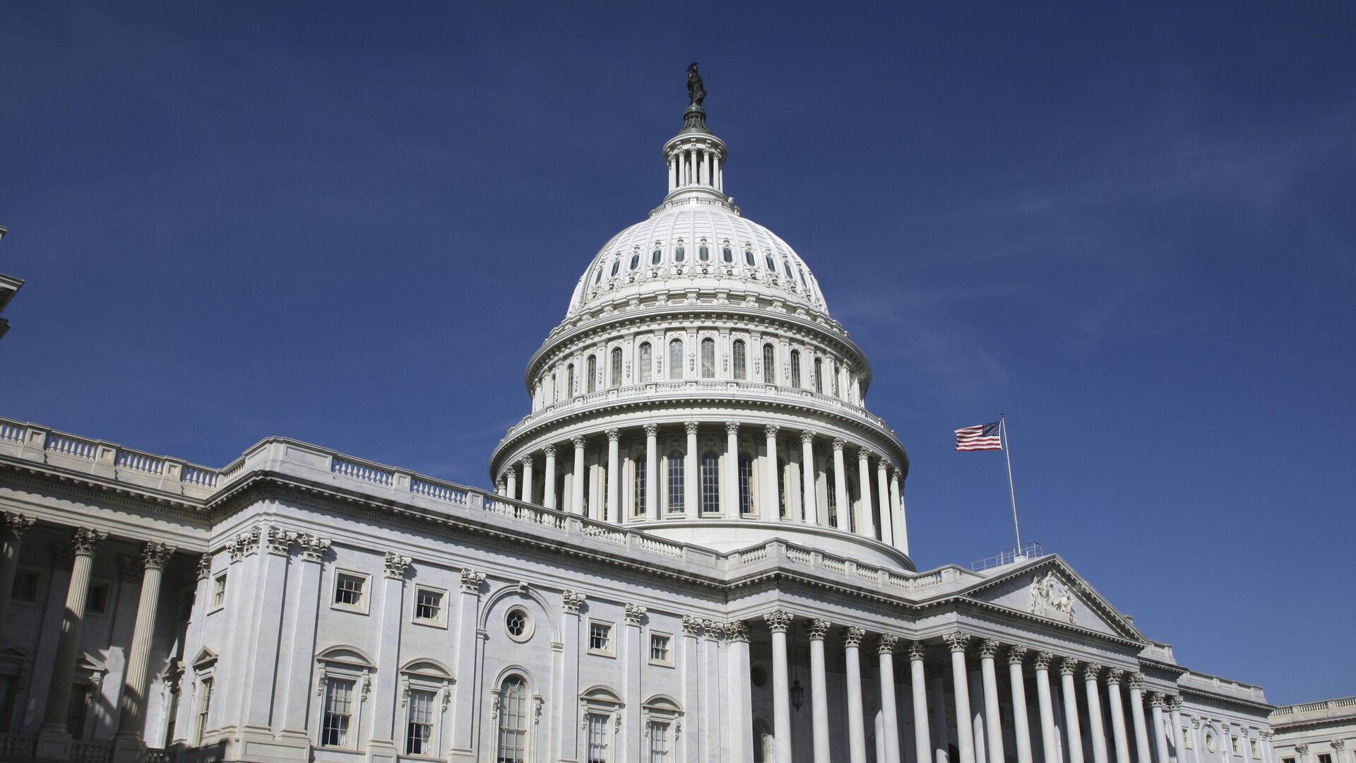 Здание конгресса США в Вашингтоне - РИА Новости, 1920, 25.11.2020