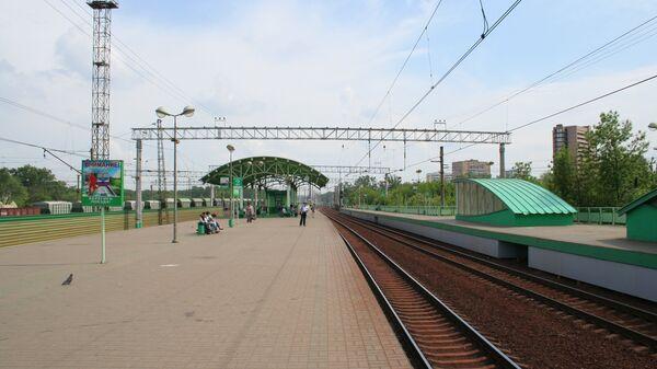 Железнодорожная станция Перово в Москве