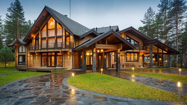 Современные технологии деревянного домостроения. Архивное фото