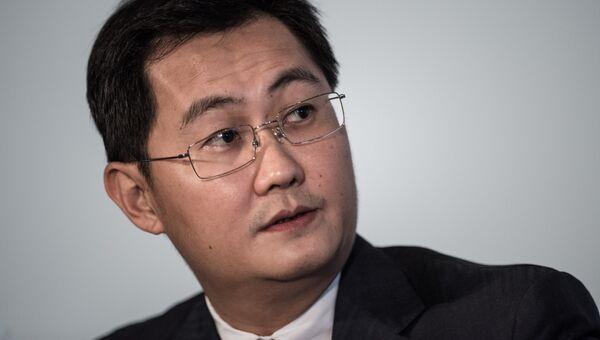 Глава телекоммуникационной компании Tencent Holdings Ма Хуатэн. Архивное фото