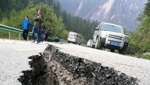 Ситуация после землетрясения в провинции Сычуань, Китай