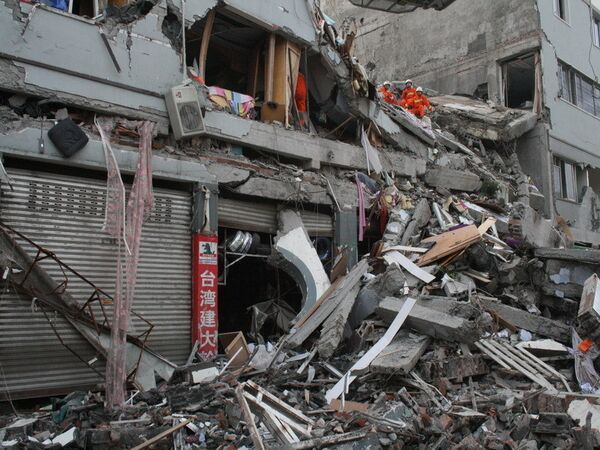 Последствия землетрясения в китайской провинции Сычуань