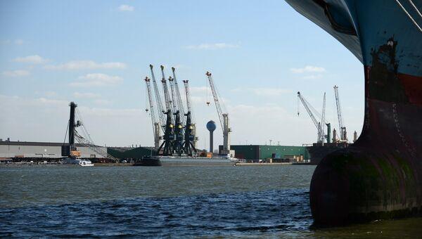 Порт Антверпена. Архивное фото