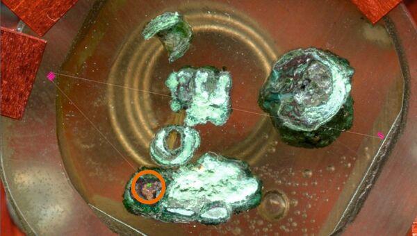 Фрагменты меди и шлака, найденные в Чатал-Гуюке