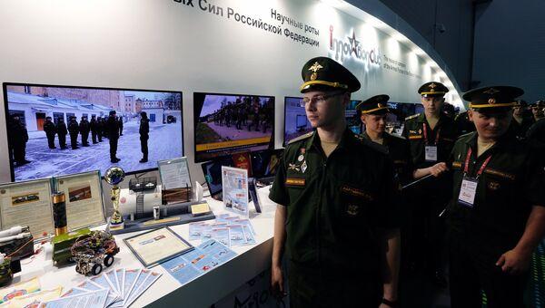 Подготовка к открытию Международного военно-технического форума Армия-2017. 15 августа 2017