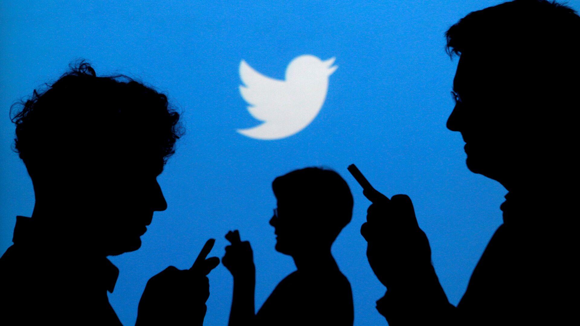 Логотип социальной сети Twitter - РИА Новости, 1920, 24.02.2021
