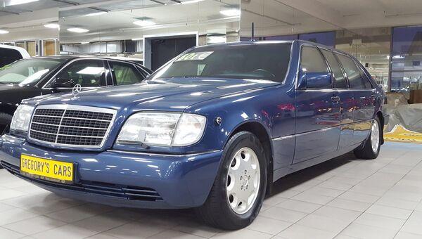 Машина Mercedes-Benz S-класса, принадлежавшая первому президенту России Борису Ельцину
