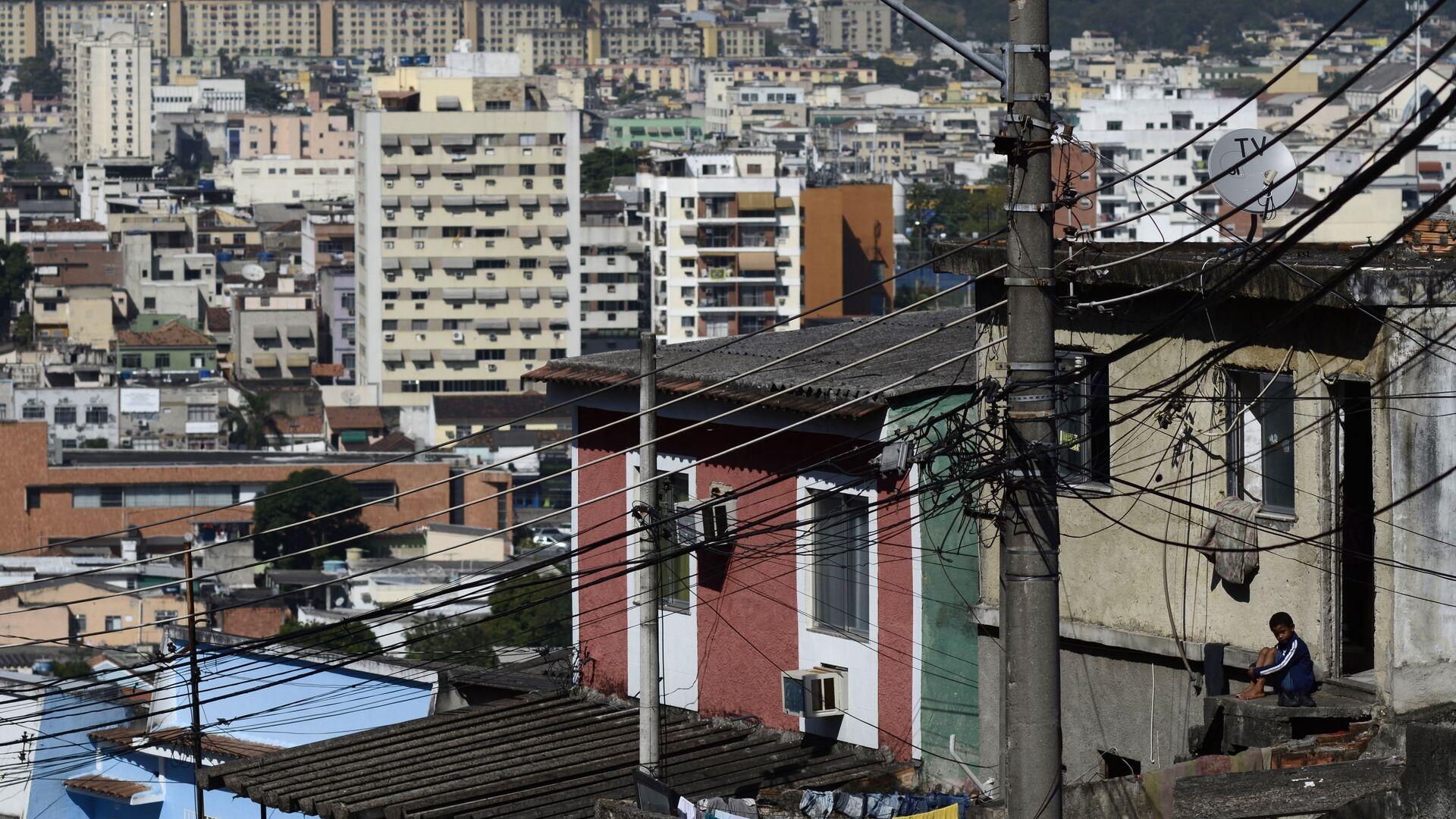 Пригород Рио-де-Жанейро, Бразилия - РИА Новости, 1920, 08.05.2021