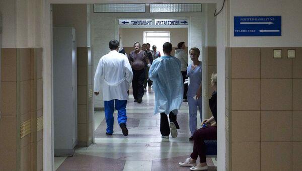 В травматологическом отделении Сургутской клинической травматологической больницы. Архивное фото
