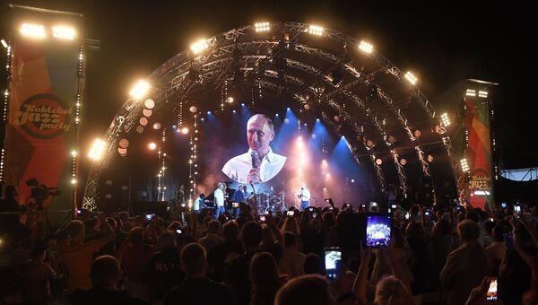 Президент РФ Владимир Путин на фестивале Koktebel Jazz Party 2017
