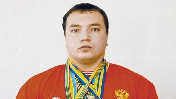 Чемпион мира по пауэрлифтингу Андрей Драчев. Архивное фото