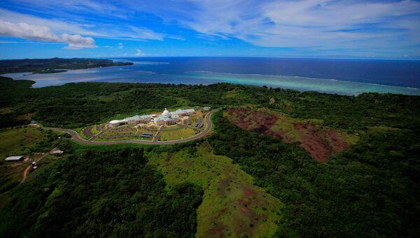Город Мелекеок в Палау