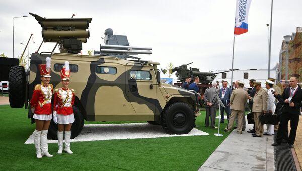 Многоцелевой ракетный комплекс Корнет-ЭМ на международном военно-техническом форуме Армия-2017. Архивное фото