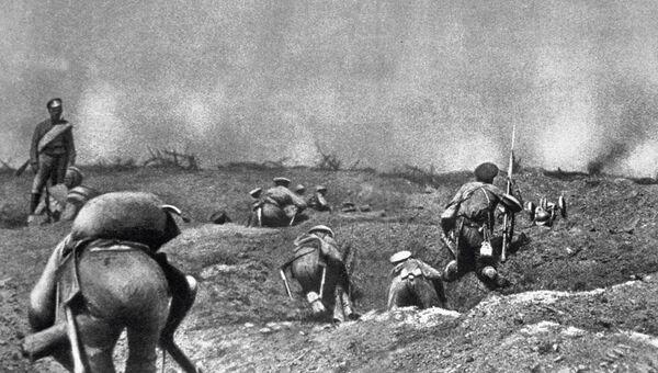 Бой во время первой мировой войны