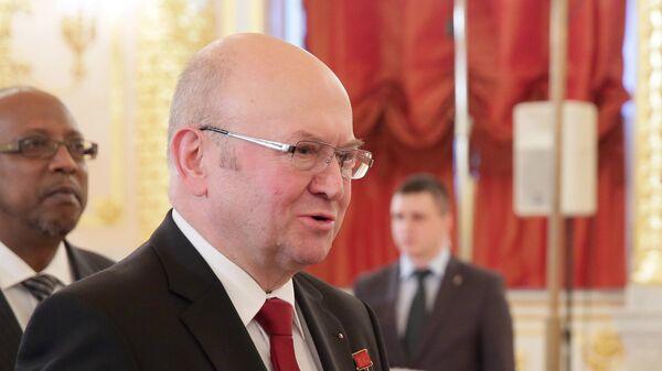 Чрезвычайный и полномочный посол Чешской республики в России Владимир Ремек