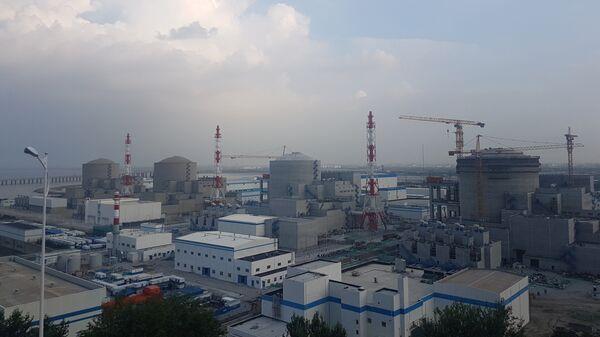 1–4 энергоблоки Тяньваньской АЭС. Архивное фото