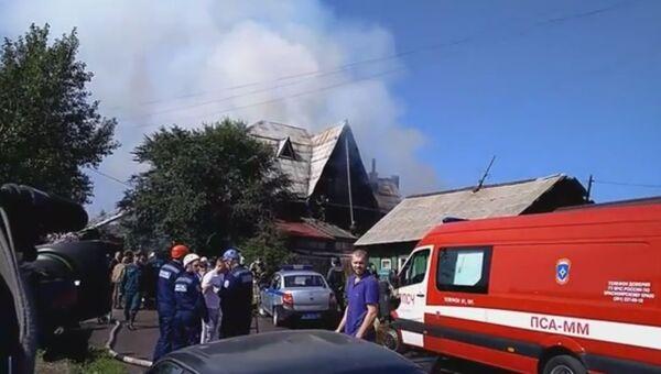 Пожар в доме престарелых. 28 августа 2017 года